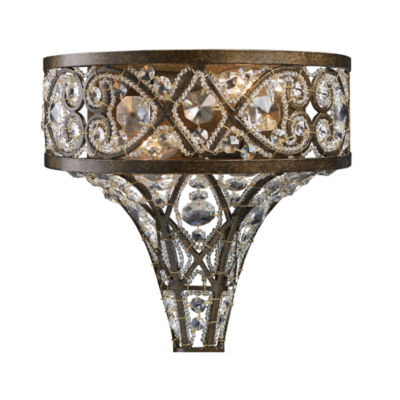 Amherst 2 Light Sconce In Antique Bronze