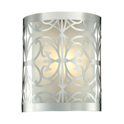 Willow Bend 1 Light Vanity In Polished Chrome