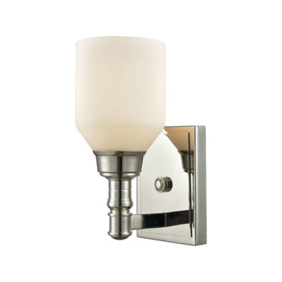 Baxter 1 Light Vanity With Opal White Glass