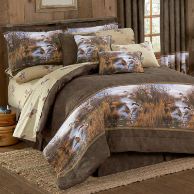 Blue Ridge Trading Duck Approach Comforter Set