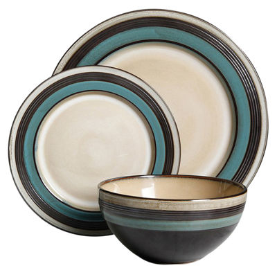 Everston 12 Pc Dinnerware Set
