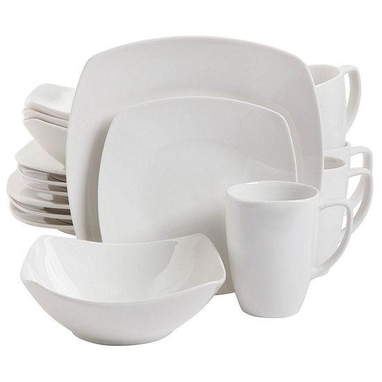 Zen Buffetware 16 Pc Dinnerware Set