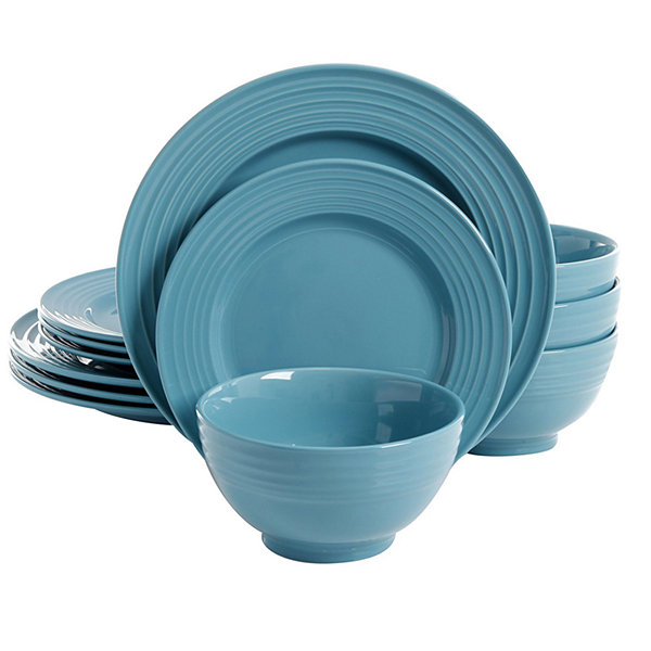 Plaza Cafe 12 Pc Dinnerware Set