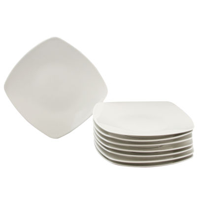 Gibson Zen Buffetware 8 Piece Salad Plate