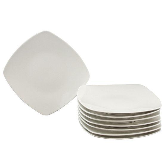 Gibson Zen Buffetware 8 Piece Dinner Plate