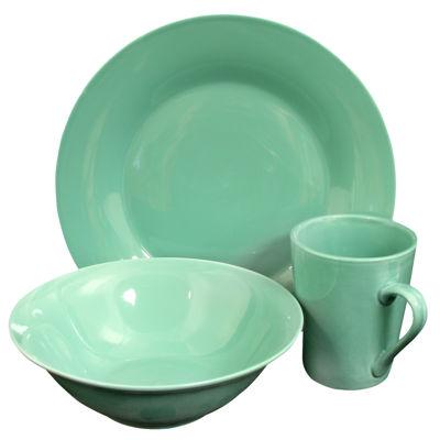 Carlton 12 Piece Dinnerware Set