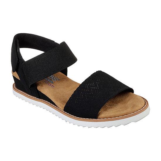Skechers Bobs Womens Desert Kiss Flat Sandals