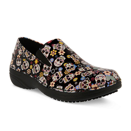 Spring Step Professionals Womens Ferrara Slip-On Shoe Closed Toe