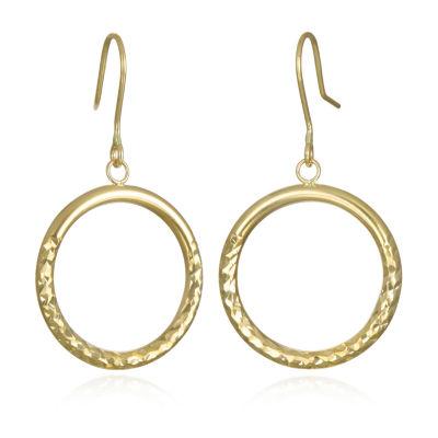 14K Gold Drop Earrings