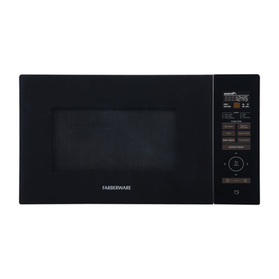 Farberware Gourmet FMO11AESBKA 1.1 Cu. Ft 1100-Watt Microwave Oven with Smart Sensor, Inverter Technology, and Sensor Touch Control Panel