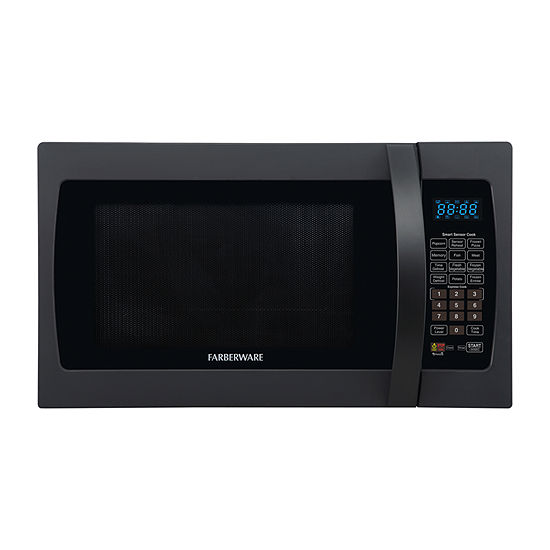 Farberware Professional FMO13AHTBKF 1.3 Cu. Ft 1100-Watt Microwave Oven with Smart Sensor Cooking