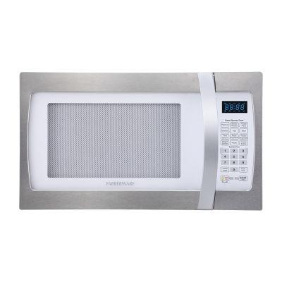 Farberware Professional FMO13AHTPLE 1.3 Cu. Ft 1100-Watt Microwave Oven with Smart Sensor Cooking