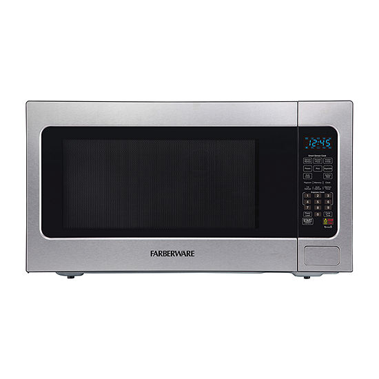 Farberware Professional FMO22ABTBKA 2.2 Cu. Ft 1200-Watt Microwave Oven with Smart Sensor Cooking