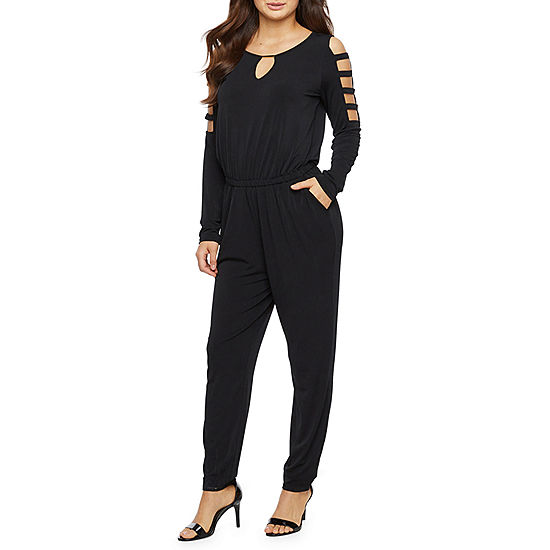 677d5c442aad5d Bold Elements Long Sleeve Jumpsuit - JCPenney