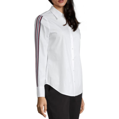 Worthington Capsule Collection Long Sleeve Blouse