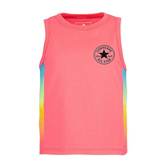 Converse Girls Crew Neck Tank Top - Big Kid
