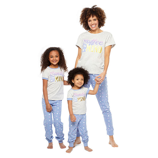 "Mommy and Me ""On My Mind"" 2pc Pant Set"
