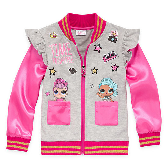 26e9e0753 LOL Surprise! Girls Lightweight Bomber Jacket Preschool / Big Kid ...