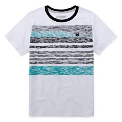 Zoo York Boys Crew Neck Short Sleeve T-Shirt-Big Kid