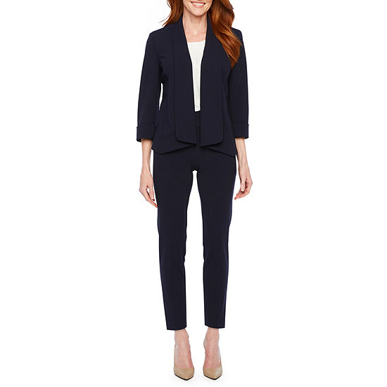 Black Label by Evan-Picone 3/4 Sleeve Suit Jacket or Classic Fit Suit Pants or Sleeveless Blouse