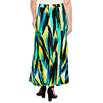 Black Label by Evan-Picone Sleeveless Blouse or Maxi Skirt