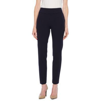 Black Label by Evan-Picone Relaxed Fit Suit Pants
