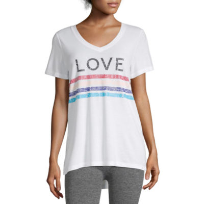 Xersion High Low Graphic Tee - Tall