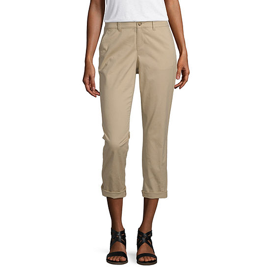 a.n.a Twill Tape Chino Crop Capris