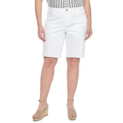 "a.n.a Denim 11"" Bermuda Shorts - Plus"