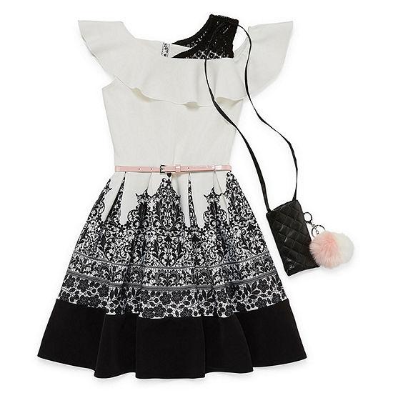 Knit Works Girls Sleeveless Skater Dress