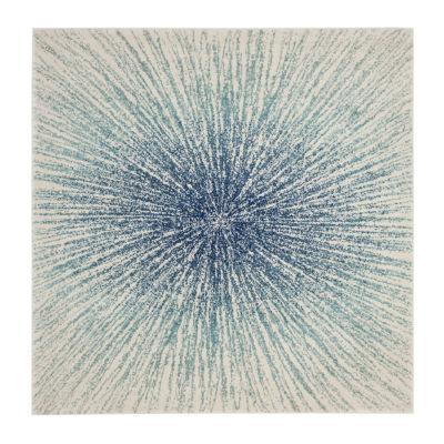 Safavieh Evoke Collection Aliya Abstract Square Area Rug