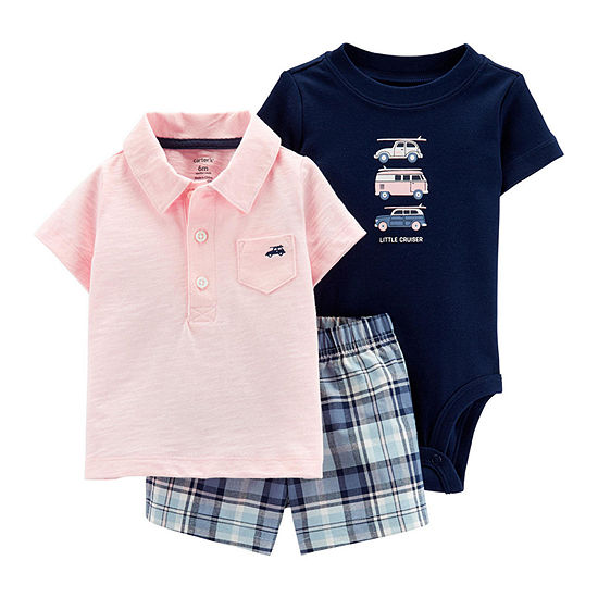 Carter's Baby Boys 3-pc. Short Set