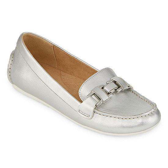 Liz Claiborne Womens Alabama Slip-On Shoe Round Toe-Wide Width