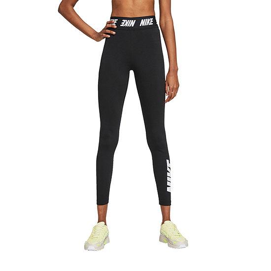 Nike Womens High Rise 7/8 Ankle Leggings