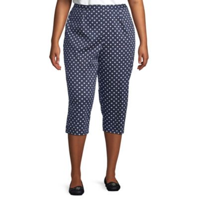 Alfred Dunner Ship Shape Plus Capris