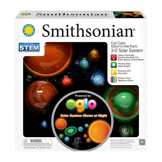 Nsi Smithsonian 3-D Glowing Solar System