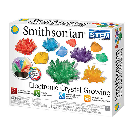 Nsi Smithsonian Crystal Growing Kit