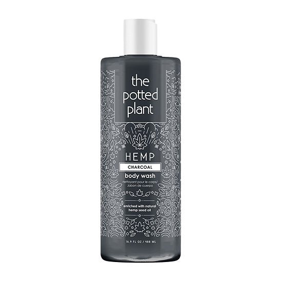 The Potted Plant Charcoal Shower Gel