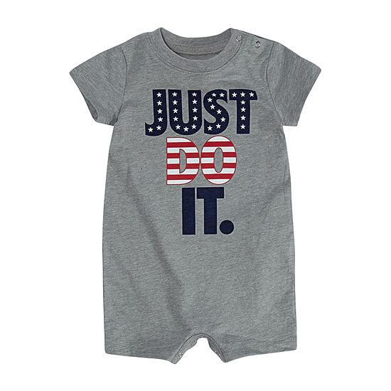 Nike Americana Baby Boys Short Sleeve Romper