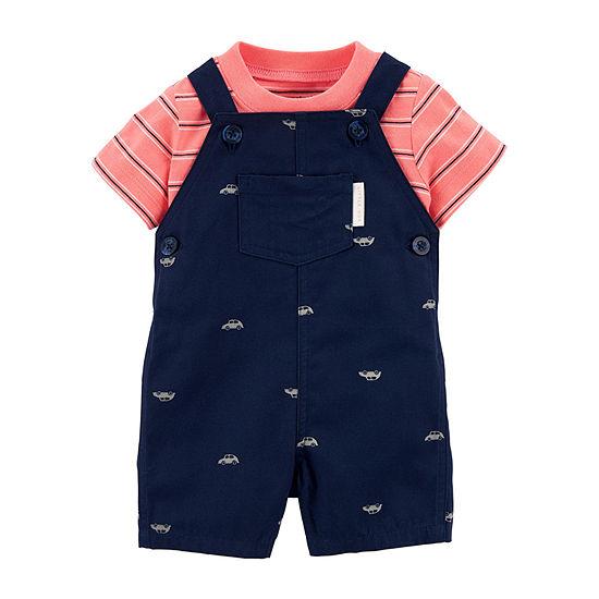 Carter's Baby Boys 2-pc. Shortall Set