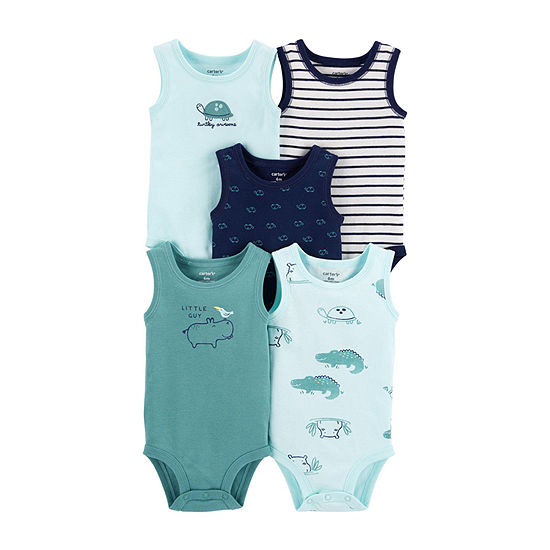 Carter's Little Baby Basic Baby Boys 5-pc. Bodysuit