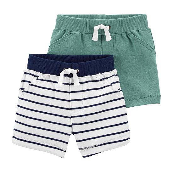 Carter's Baby Boys 2-pc. Pull-On Short