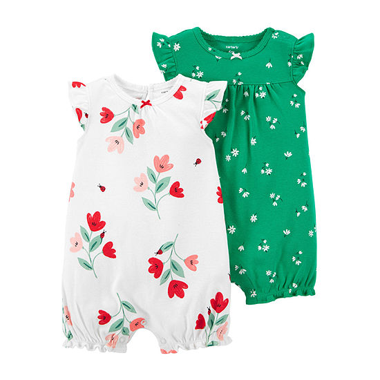 Carter's Baby Girls 2-pc. Baby Creeper