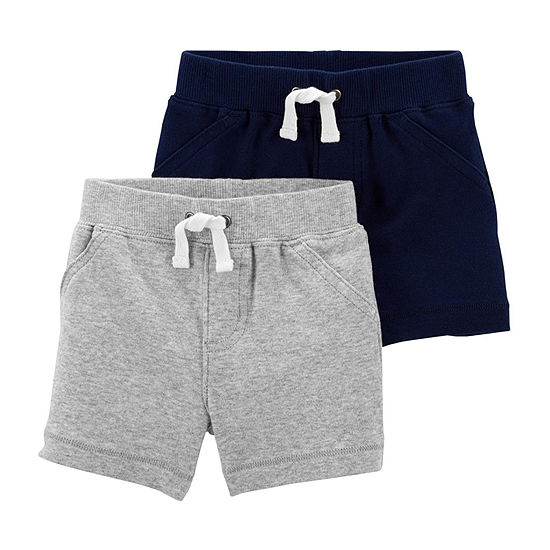 Carter's Baby Boys 2-pc. Pull-On Short