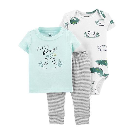 Carter's Baby Boys 3-pc. Pant Set