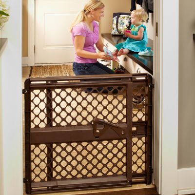North States™ Supergate Ergo Baby Gate - Espresso