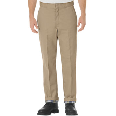 Dickies® Relaxed-Fit Straight-Leg Flannel-Lined Work Pants