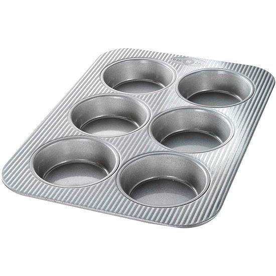 USA Pan™ 6-Well Mini Round Cake Pan