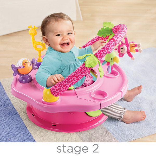 Summer Infant® Deluxe SuperSeat® Island Giggles - Pink