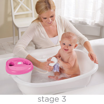 Summer Infant® Newborn to Toddler Bath Center and Shower - Pink